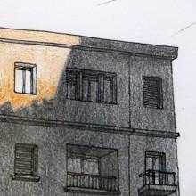 Julien Berthier, A Lost, 2011 et série de dessin 2004-2010