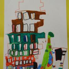 Les immeubles imaginaires des enfants de Pléchatel