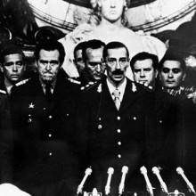 La dictature en Argentine