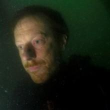 Simon Faithfull, Self-Portrait – Wreck of the Brioney Victoria- 25 m,