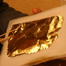 La feuille d'or