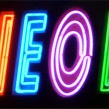 Le néon dans l'art contemporain