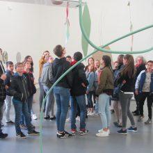 Retour en images sur la visite des délégués du collège des Fontaines