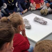 Visite d'une classe de TPS/PS de l'école maternelle du Faux-Pont