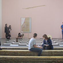 Transmission autour de l'exposition de Yann Sérandour avec les étudiants du master MEEF