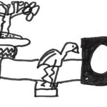 Raconter l'exposition en dessins avec les élèves de CE1 et CE2 de l'école Pablo Picasso
