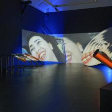 Siham & Hafida, une installation vidéo multimédia