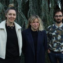 Léa Bénétou, Yann Baïzid et Fanny Martel