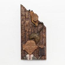Le geste artisanal dans les oeuvres d'art de Mathis Collins
