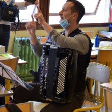 Gabriel Mattei, compositeur des deux chants du projet Moineaux
