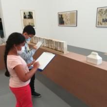 Des ateliers pour explorer l'exposition de Jockum Nordström